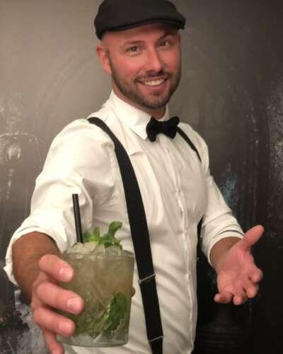 Cohibar Pop-Up Cocktailbar Jerry Moyson Cocktaildesigner